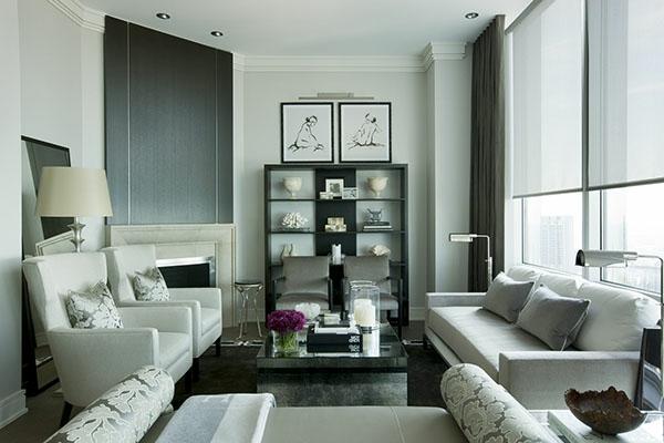 Einrichtungsideen Für Wohnzimmer   Schlichte Farbchema