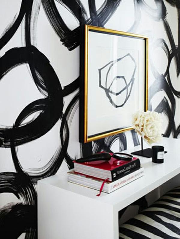 62 kreative Wände streichen Ideen - interessante Techniken ...