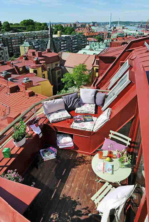 Die Besten Ideen Für Terrassengestaltung - 69 Super Beispiele ... Schone Balkon Und Terrasse Gestaltung Akzente