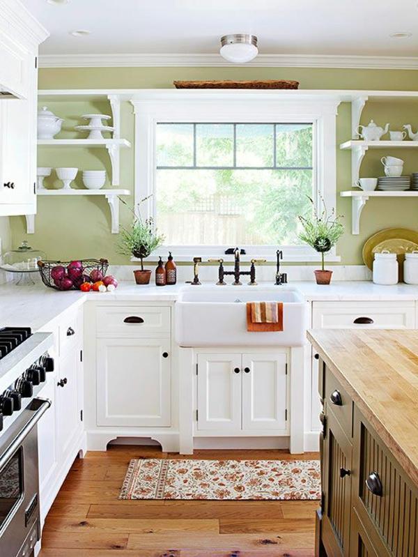 idee für küchen farben - weiße gestaltung