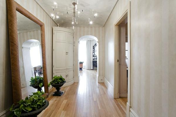 moderne tapeten flur. Black Bedroom Furniture Sets. Home Design Ideas