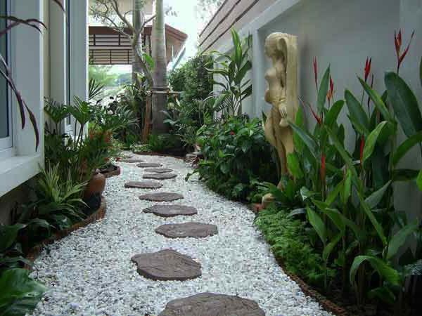 Gartengestaltung 60 fantastische garten ideen for Gartengestaltung mit kies
