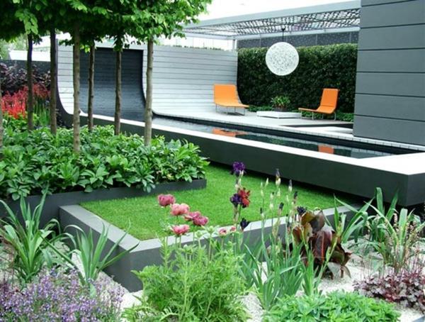kreativ ausgestattete erholungsraum fr den garten - Gartenideen