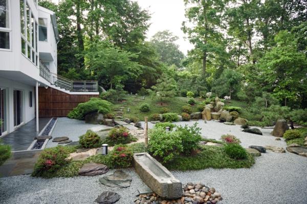 53 erstaunliche bilder von gartengestaltung mit steinen for Stein s garden home