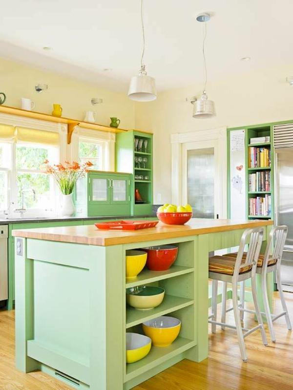 Farbgestaltung K Che 55 wunderschöne ideen für küchen farben stil und klasse archzine