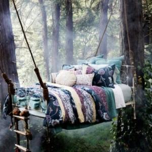 Hängende Betten - 25 traumhafte Beispiele