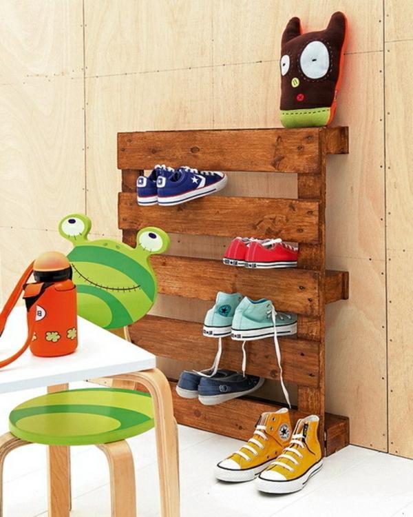 Selbermachen - 35 Coole Schuhaufbewahrung Ideen - Archzine.net Zimmer Ideen Selber Machen