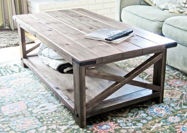 Couchtisch selber bauen eine herausforderung aber nur for Holztisch wohnzimmer