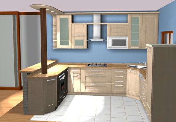 schlichte farben für die küche