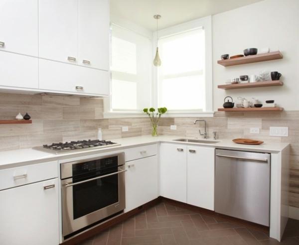 küche weiß ausstatten