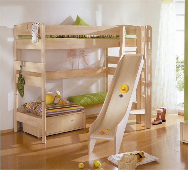 Childrens Bunk Beds With Desk