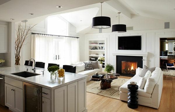 wohnzimmer modern braun:Wie ein modernes Wohnzimmer aussieht – 135 innovative Designer Ideen