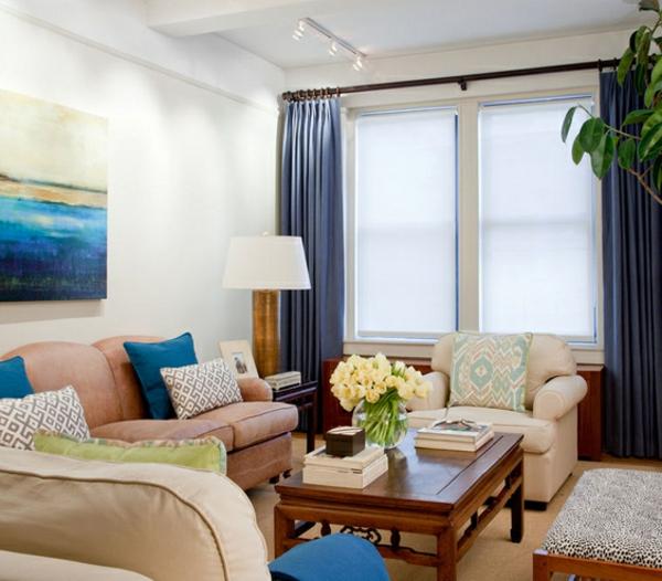 blumenstrauß als eine gute idee für wohnzimmer deko