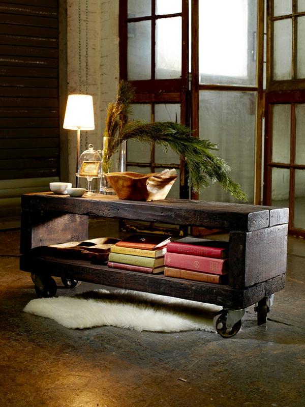 Möbel aus holz selber machen  Couchtisch selber bauen? Eine Herausforderung, aber nur auf dem ...