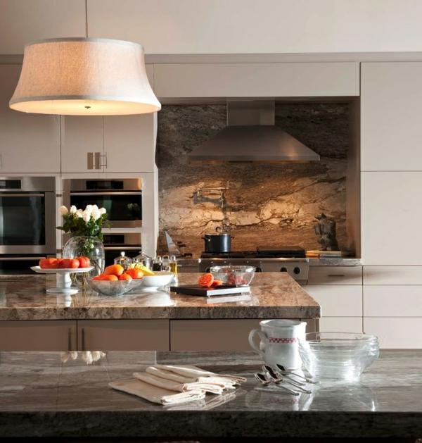 Küche Spritzschutz Holz