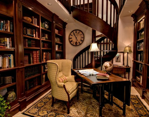 Spiralltreppen aus Holz für ein elegantes Haus Design