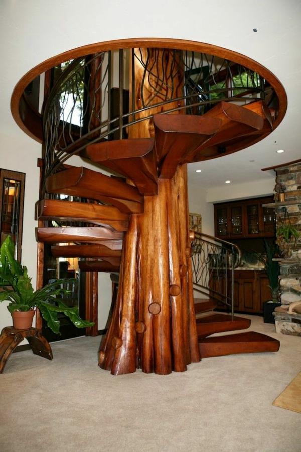 Luxus Haus mit großartigen Spiraltreppen