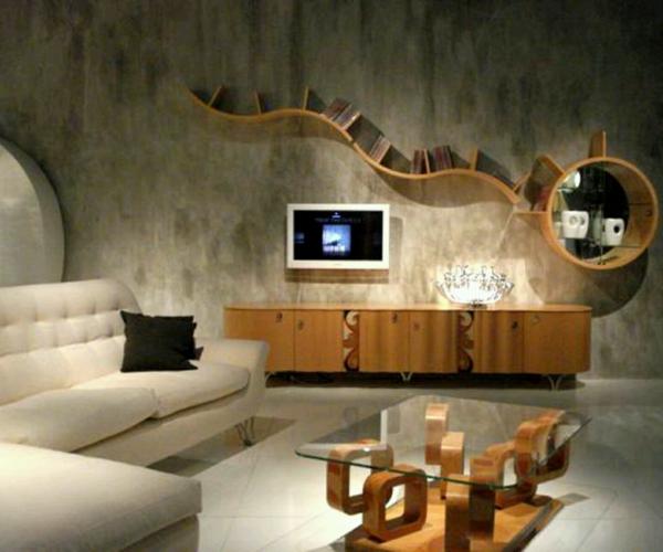 Wie Ein Modernes Wohnzimmer Aussieht