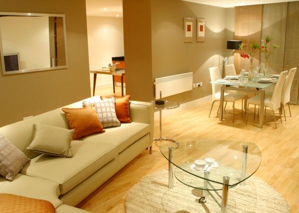 Wohnzimmer streichen 106 inspirierende ideen for Goldene wandfarbe