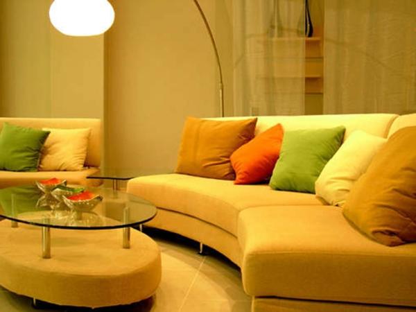 beiepiel für eine gute farbkombination im wohnzimmer