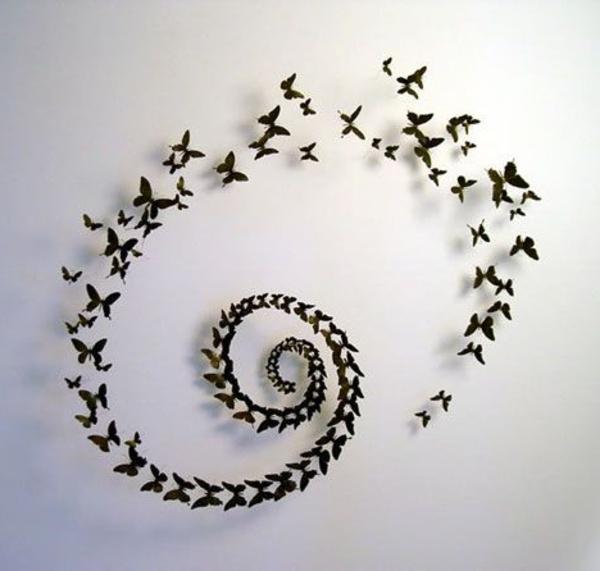 Zeit f r kunst 48 wanddekoration ideen for Pinterest wanddeko
