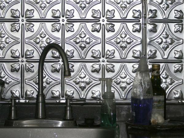 metallice konstuktion eines küchenspiegels