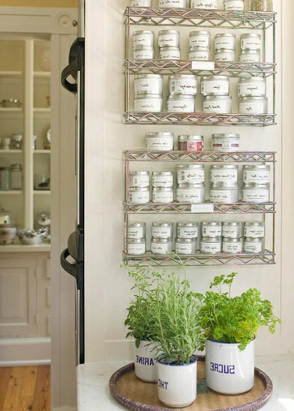 25 Gewürzaufbewahrung Ideen - besonders für kleine Küchen geeignet ...