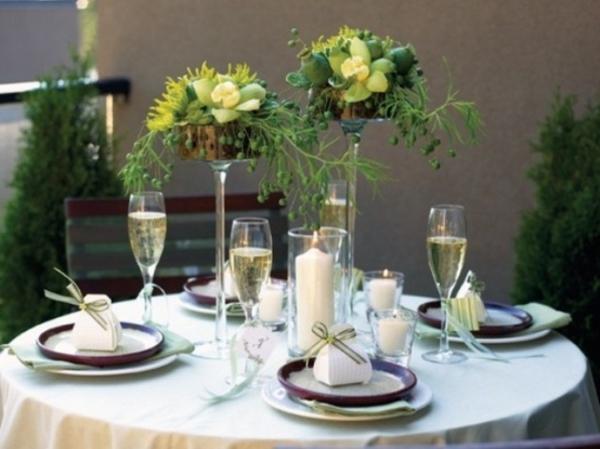 30 vebl ffende tischdeko ideen f r ihr zuhause for Topfpflanzen dekorieren