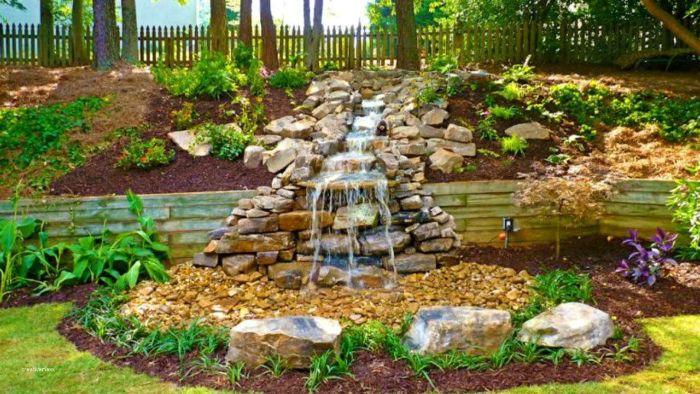 53 erstaunliche Bilder von Gartengestaltung mit Steinen - Archzine.net