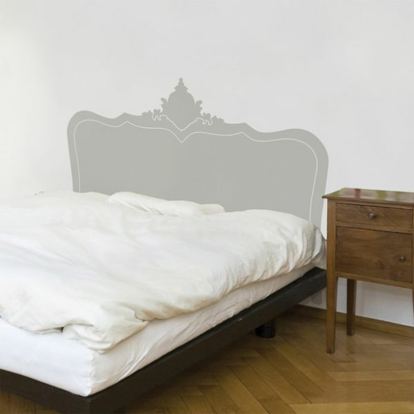 kopfteil fur das bett diy ideen. Black Bedroom Furniture Sets. Home Design Ideas