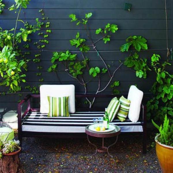 modernes design der terrasse
