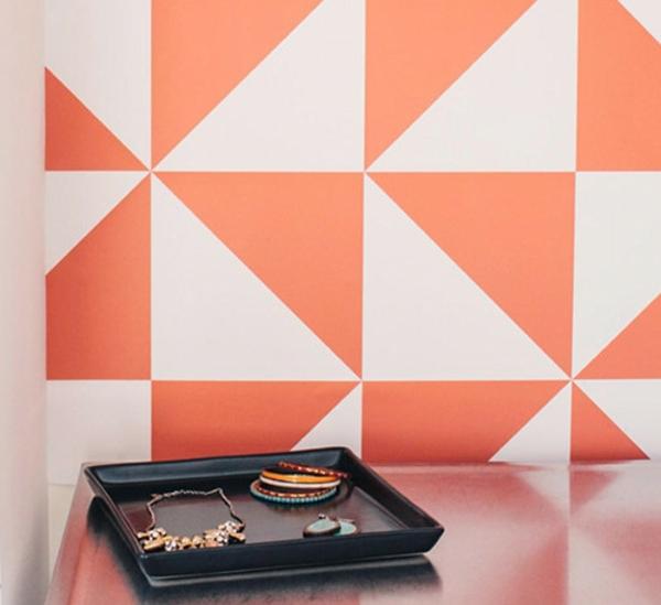 wandgestaltung quadrate beispiele. Black Bedroom Furniture Sets. Home Design Ideas