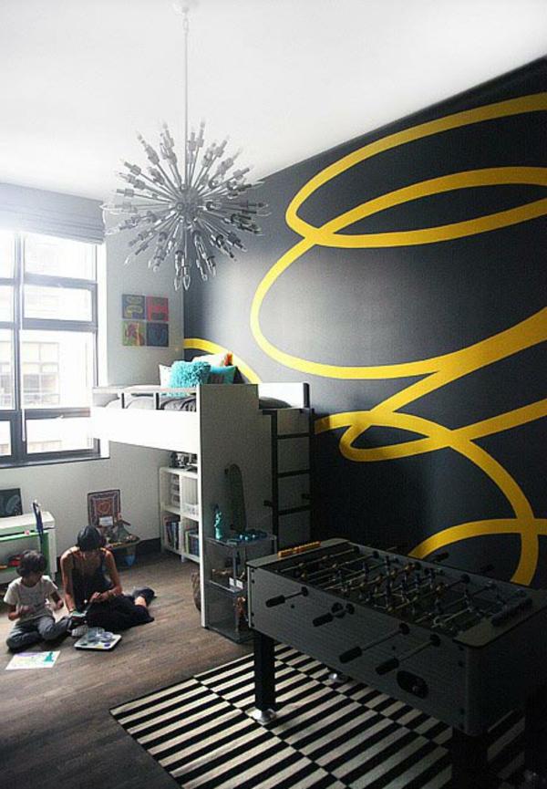 tipps für wände streichen - kinderzimmer schön gestalten