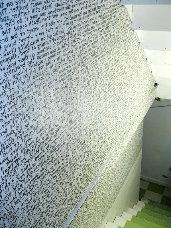 wände streichen ideen - aufschrifte