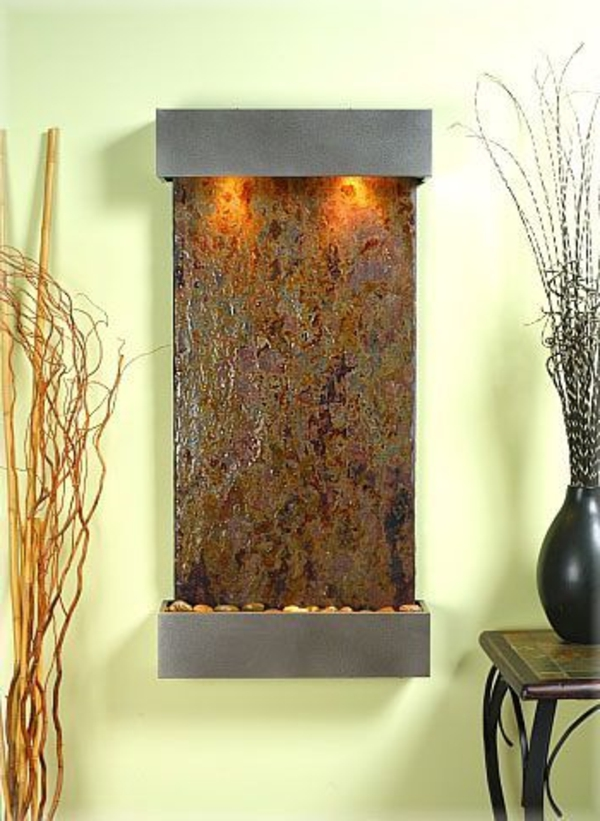 wandgestaltung mit originellem design vom dekoartikel