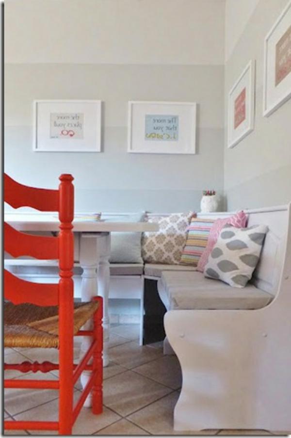 Shabby chic wohnzimmer - Kinderzimmer ideen gestaltung wa nde streichen ...