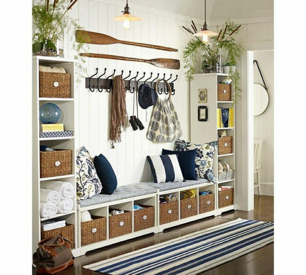 alles ber die flurgestaltung farbschemen m belst cke. Black Bedroom Furniture Sets. Home Design Ideas