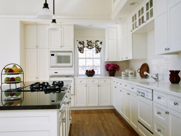 kochinsel weiß -große küche