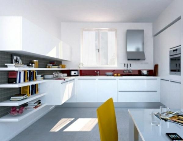 küche farben - weiße ausstattung