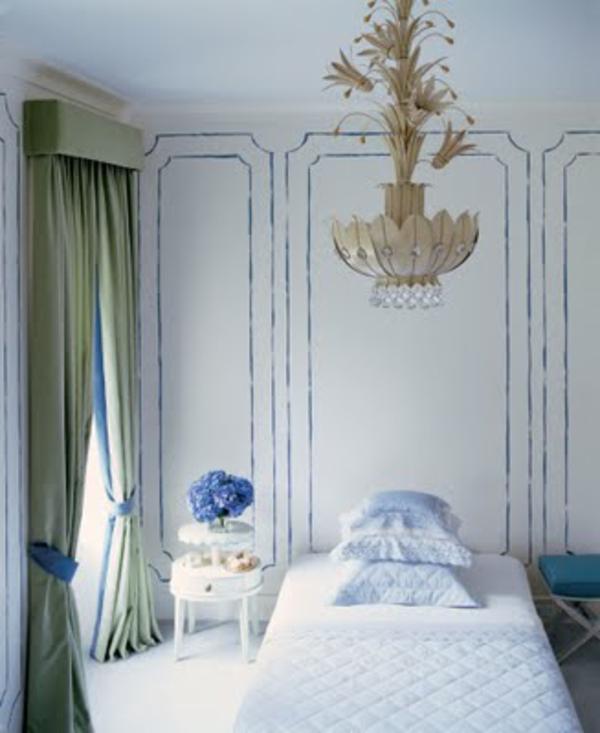 wände farbig streichen  - schlafzimmer ideen