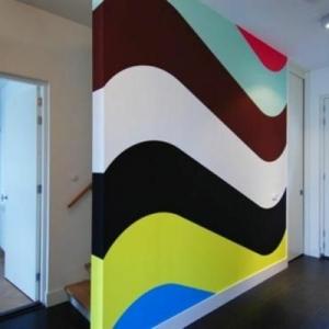62 kreative Wände streichen Ideen - interessante Techniken