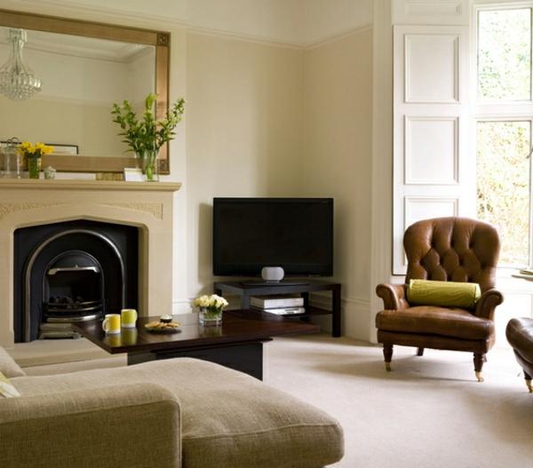 elegante möbel im wohnzimmer