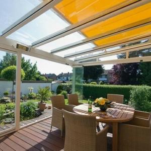 Überdachte Terrasse - 48 wunderschöne Ideen
