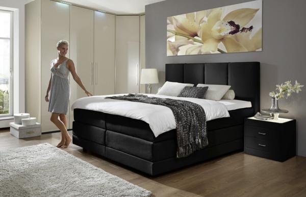 boxspringbetten test vor und nachteile. Black Bedroom Furniture Sets. Home Design Ideas