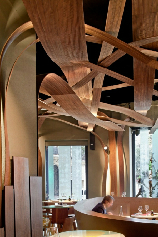 Holz decke haus design bilder
