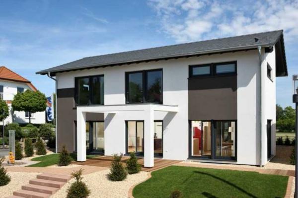 Modernes einfamilienhaus super inspirierende bilder for Einfamilienhaus architektur modern
