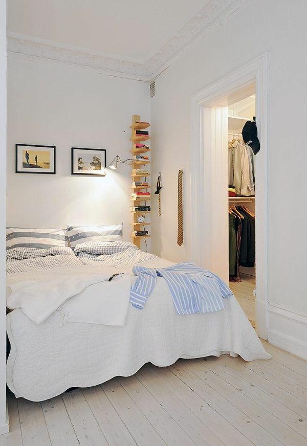 Schlafzimmer gestalten – 30 moderne Ideen im skandinavischen Stil ...