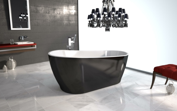 freistehende badewanne 31 interessante vorschl ge. Black Bedroom Furniture Sets. Home Design Ideas