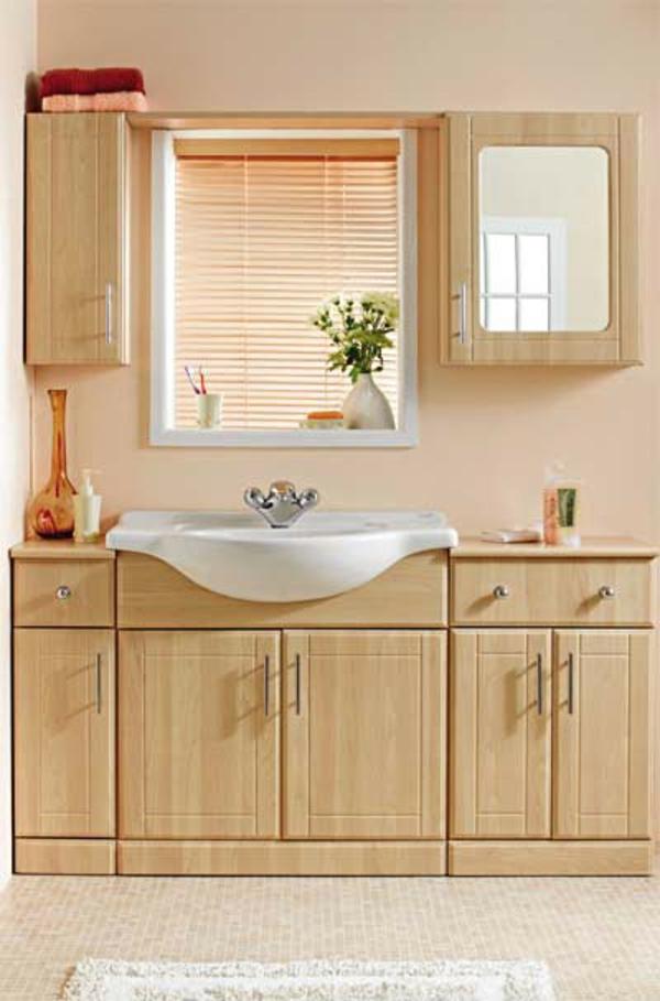 Moderner badschrank 30 interessante bilder for Badschranke mit waschbecken