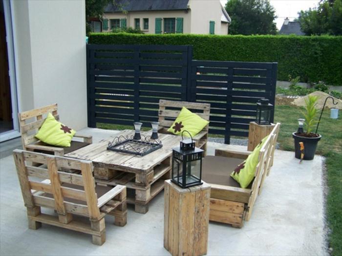 Gartenmobel Aus Holz Danisches Bettenlager : schöne gartenmöbel aus paletten  gartenstuhl selber bauen
